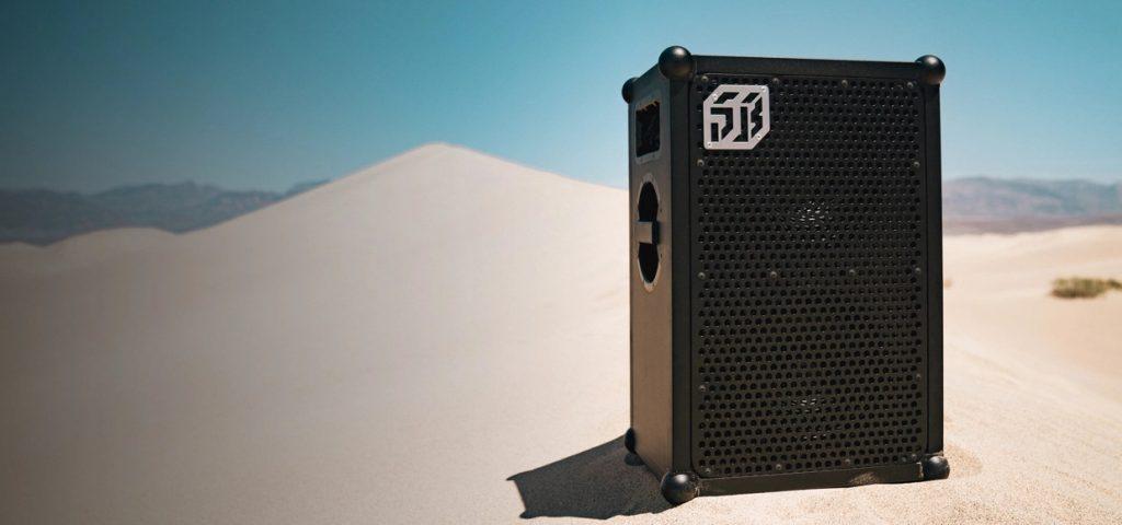 soundboks i ørken